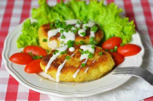 зразы картофельные с грибами: рецепты с разными ингридиентами